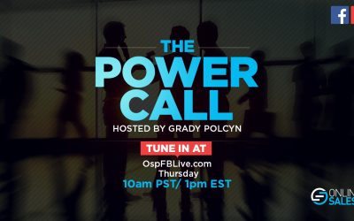OSP Power Call – The #1 Skill of the Top 10% of all Money Earners in Sales