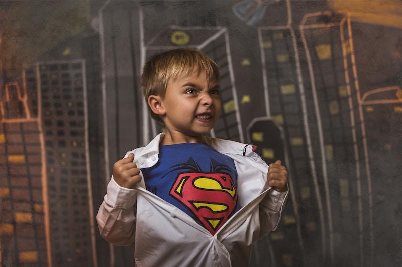 Kid-as-Superman